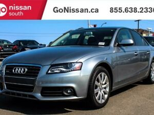 2011 Audi A4 LEATHER, SUNROOF, GREAT SHAPE!