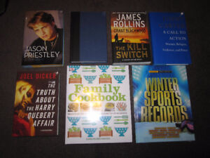 Current Books - NEW, Sold on Choice ... $5.00 each