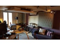 Music Studio Share offered - Spacious Production Studio in North London - Weekends and Evenings