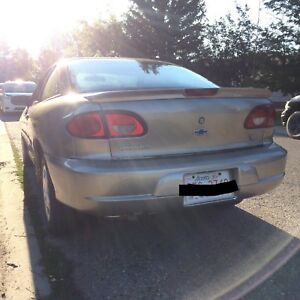 2001 Chevrolet Cavalier Coupe Low Kms!
