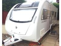 Sprite Quattro EW 2014 Twin Axle Caravan