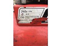 Snap on 150l air compressor