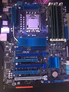 Intel core i7 with motherboard and ram combo price nego