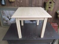 White Square Coffee Table Delivery Available £10