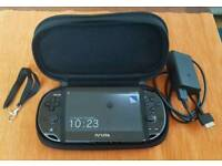 Sony PlayStation Vita (Wi-Fi + 16G) with case and accessories