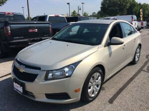 2012 Chevrolet Cruze LT 1.4L Turbo CLEAN CAR