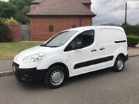 PEUGEOT PARTNER 1.6 HDI DIESEL 2012 62-REG ONLY 102,000 MILES FULL SERVICE HISTORY DRIVES EXCELLENT