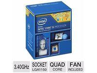 Intel i5 quad core cpu 4670k
