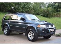 2007 Mitsubishi Shogun Sport 2.5 TD Equippe 5dr SERVICE HISTORY MANUAL 4X4, WARRANTY, PX WELCOME