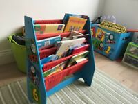 Toy box and sling book case