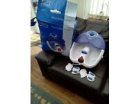 Visiq infra red bubble foot spa with water jets.