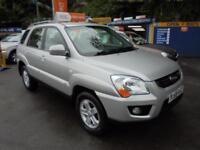 2009 59 KIA SPORTAGE 2.0 XE 4WD IN SILVER # LOW MILEAGE EXAMPLE #