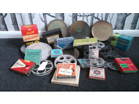 Selection of 8mm and 9.5mm film and film paraphernalia