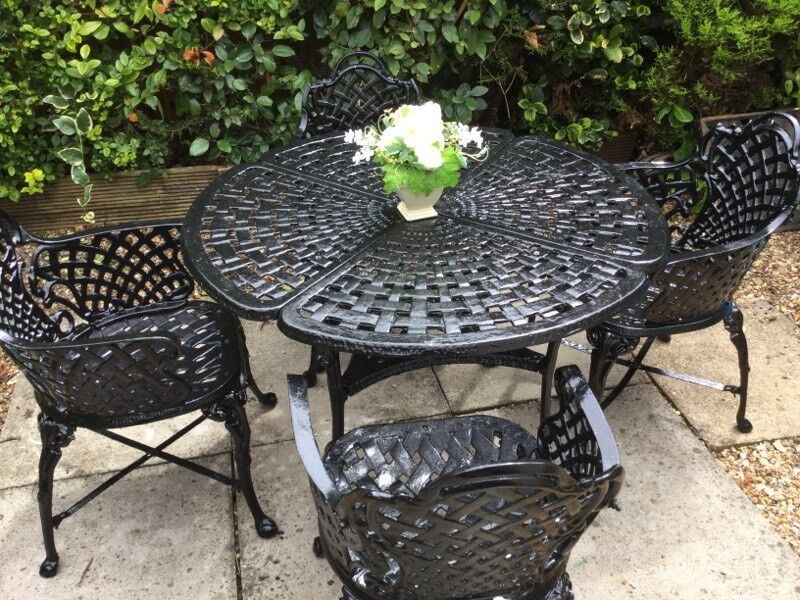 garden table and chairsin kings lynn norfolkgumtree cast iron garden table and chairs cast - Garden Furniture Kings Lynn