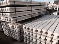 8ft concrete intermediate fence posts inc local delivery pack 10