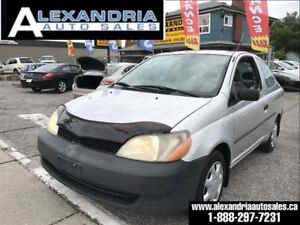 2002 Toyota Echo auto air price includes safety