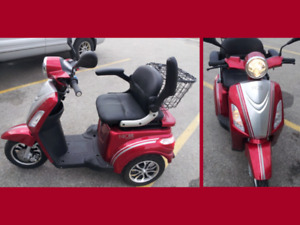Cherry Red XPLORE Mobility Scooter (6 months old) Great Price!!!