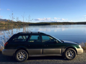2001 Subaru Outback with SUPER low Kms!