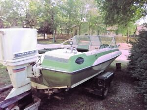 1983 Glastron Boat and trailer for sale
