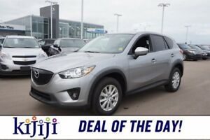 2013 Mazda CX-5 AWD GS Accident Free,  Sunroof,  Heated Seats,