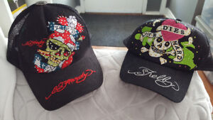 Ed hardy and shelby skull hats brand new $10 both!!!
