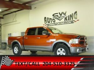 2013 Ram 1500 SLT / Outdoorsman / Crew / 4x4 / Financing