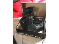 Rockfall Titanium coloured boots size 12
