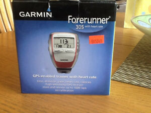 Garmin Forerunner 305 With Heart Rate Monitor