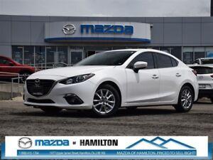 2014 Mazda MAZDA3 GS SUNROOF, LOW KM, AUTOMATIC!