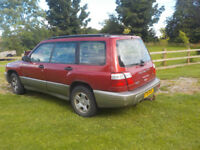 Subaru forester allweather 4x4 with tow bar