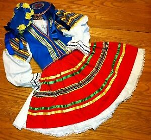 Authentic Ukrainian Dance Costumes - Cheremosh/Kupalo