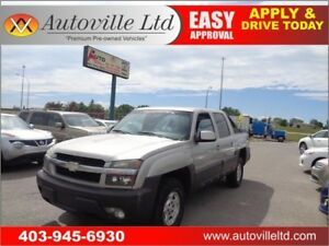 2004 Chevrolet Avalanche 1500 4X4 Crew Cab 4 Door Power Seats