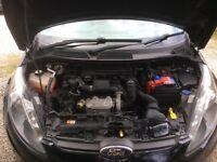 Ford Fiesta 1.4litre diesel Edge. 5 door. Black. Low mileage. MOT to April 2018.