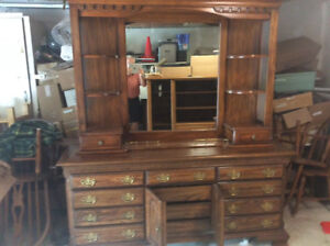 Beautiful Kroehler twelve drawer dresser with mirror $175.00