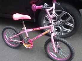 Girls Childrens bike suit upto 7 years old
