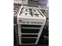 HOTPOINT 50CM ALL GAS COOKER WITH LID