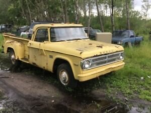 64-85 Dodge 1/2 ton trucks for parts or restore