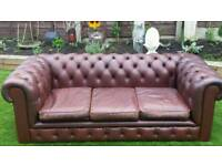 Chesterfield 3 seater old