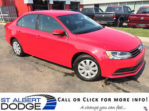 2015 Volkswagen Jetta TRENDLINE | 5SPD MAN | BACK CAM | HEAT SEA