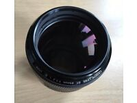 Canon EF 85mm f1.2 mk2 mint