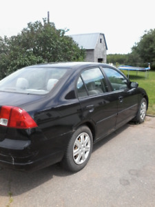 2002 Honda Civic Sedan Parts Good tires floor not able to safety