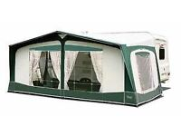 Size 870 easy Bradcote awning fit 14 to 16 ft van approx cost £500 bargain