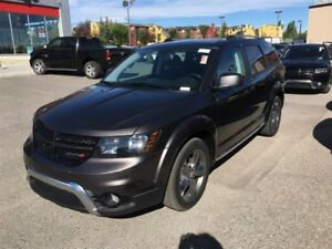 2017 Dodge Journey Crossroad-AWD, LEATHER HEATED SEATS, DVD