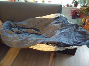 Barely used motorcycle cover