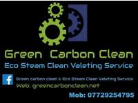 Green carbon clean & Eco steam valeting service