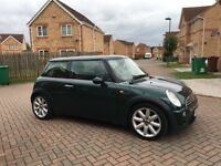 MINI COOPER 1.6, MILEAGE 64000, LEATHER, SAT NAV, MOT JUNE 2018