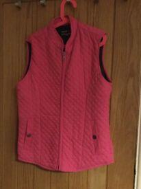 Horse riding body warmer jacket, 176cm