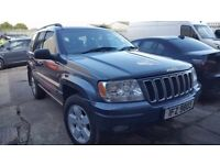 2003 Jeep Grand Cherokee Limited 2.7 CRD Auto 4x4 offroad