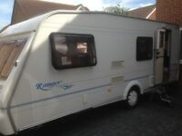 Bailey Ranger 550/6 (6 berth)Caravan