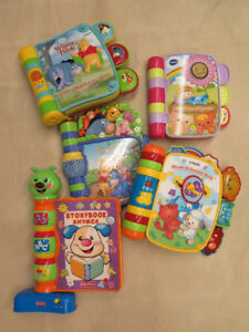 vtech talking books $5 each
